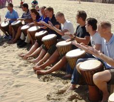 DuneBiking zakelijk evenement: strandactiviteit